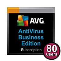 AVG AntiVirus Business Edition for 80 Computers for 2 Years