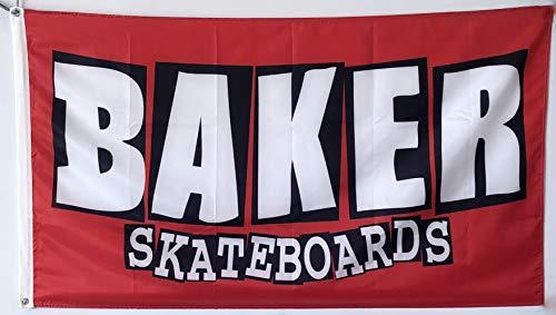 Dimike Baker Skateboards Flagge Skate 90 x 150 cm Banner
