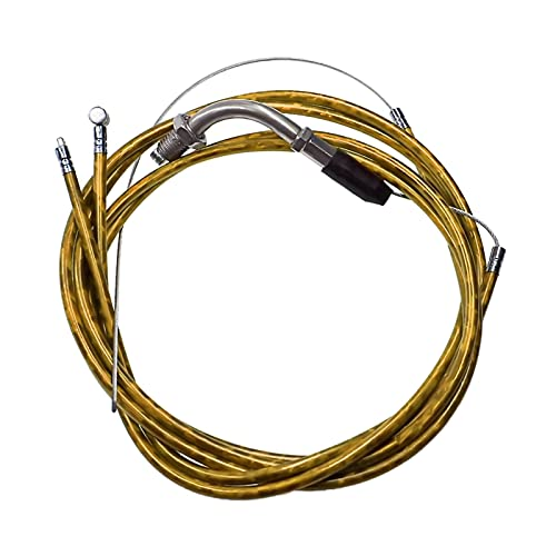 Kit de Cable de Acelerador de Cable de Embrague para 49cc 60cc 66cc 80cc Bicicleta motorizada