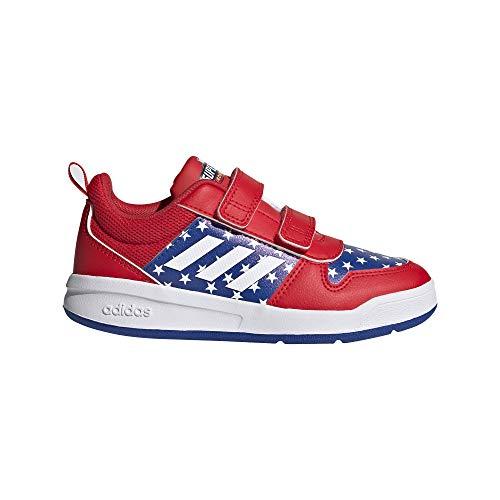 adidas TENSAUR C, Scarpe Running, ROJINT/Ftwbla/AZUREA, 36 EU