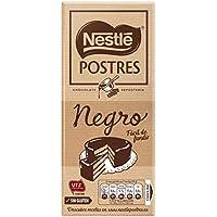 NESTLÉ POSTRES Chocolate negro para fundir - Tableta de chocolate para repostería 250g