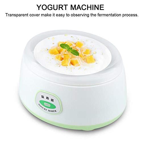 Joghurt Maker Fermentationsmaschine 220V 1L Edelstahl Mini elektrische automatische Küchengeräte