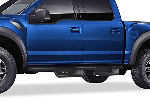 APS Aluminum Drop Steps Running Boards for Selected Ford F150 SuperCrew Cab & 17-20 F250