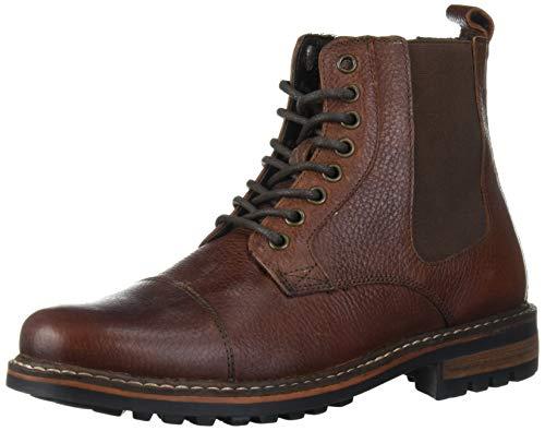 Crevo Men's Alverston Fashion Boot, Brown, 10.5 M US