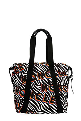 Moncler Luxury Fashion Donna 006090054AF5090 Nero Poliestere Borsa Shopping | Autunno-inverno 19