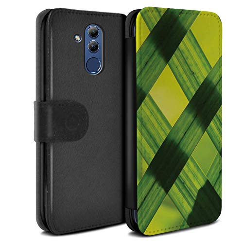 eSwish PU lederen hoesje/portemonnee/OTH-PSW/Green Fashion Collection Huawei Mate 20 Lite Nature Art/Photograph