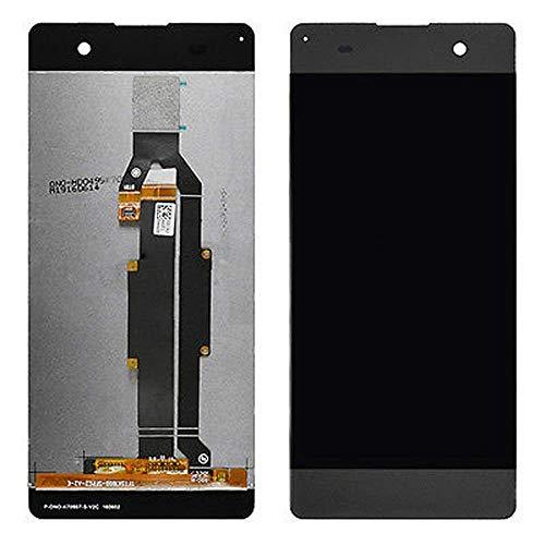YuYue Pantalla LCD Pantalla táctil Asamblea digitalizador para Sony Xperia XA Tuba SS PP10 F3111 F3113 F3115 Negro