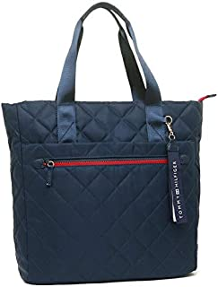 Tommy Hilfiger W86945945423 Women's Navy Blue Nylon Tote Bag