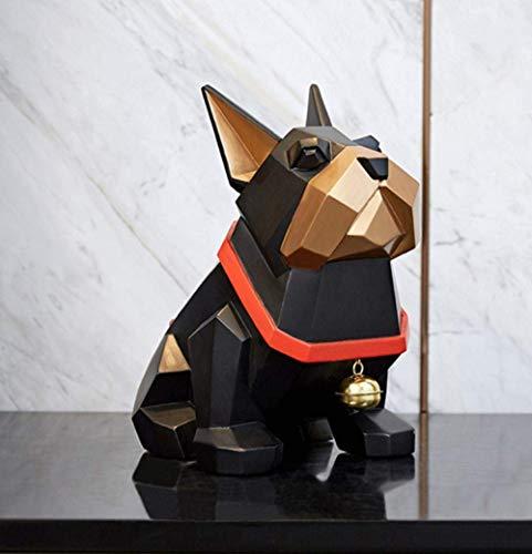 LKK-KK Decoraciones Art Craft Ley peleas de Perros decoración Animal de Regalo de cumpleaños salón Enfriador de Vino Porche de la casa 3