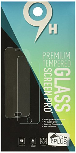 BeCool - Protector de Pantalla Cristal Vidrio Templado Premium para iPhone 6 Plus, protege y se adapta a la perfección a tu Smartphone , Ultra Resistente contra Arañazos y golpes, Dureza 9H