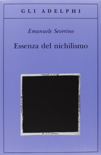 Essenza del nichilismo