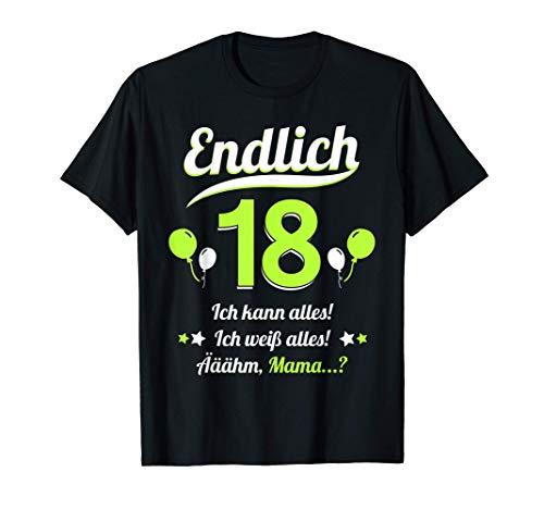 18. Geburtstag Party 2003 Teenager Mann Frau Lustig Geschenk T-Shirt
