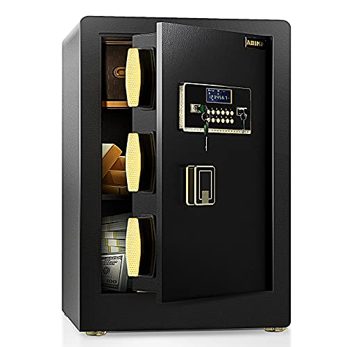 ADIMO Safe, 2.2 Cubic Feet Cabinet Safe Box with Digital Keypad and Key Lock, Built In Cabinet Box,...