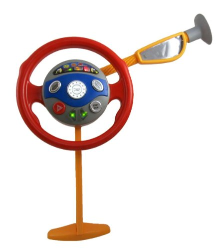 PowerTRC Electronic Backseat Driver Toy | Kids Driving Wheel | Car Toys | Pretend Driving Kids Toy