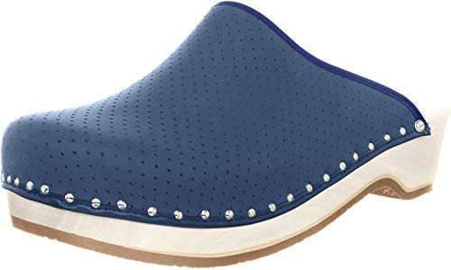Berkemann Standard-Toeffler Clogs Unisex-Erwachsene, Blau (Blau), 43 1/3 EU
