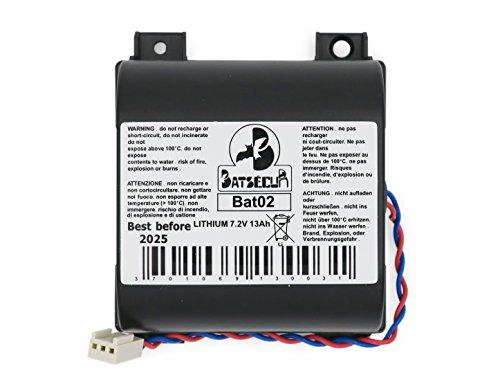 Batteria Litio BAT02 compatibile BATLi02 ATRAL HAGER DAITEM