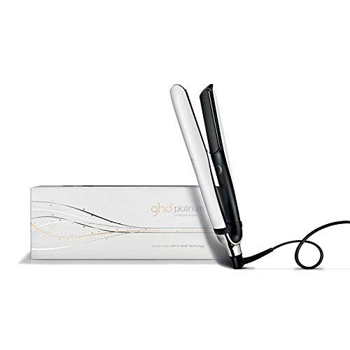GHD Platinum Styler Weiß mit Tri-Zone Technologie Glätteisen Haarglätter Geschenkset