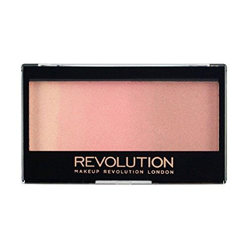 MAKEUP REVOLUTION Gradient Highlighter - Rose Quarz Light - Palette mit Highlighter und Rouge -...