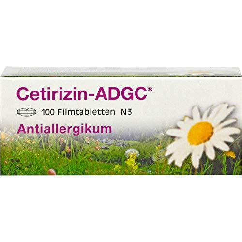 Cetirizin-ADGC - Filmtabletten 100 St