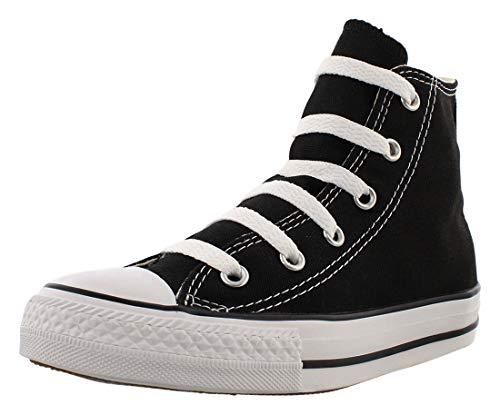 Converse Unisex-Kinder Ctas-Hi-Black-Youth Hohe Sneakers, schwarz, 30 EU