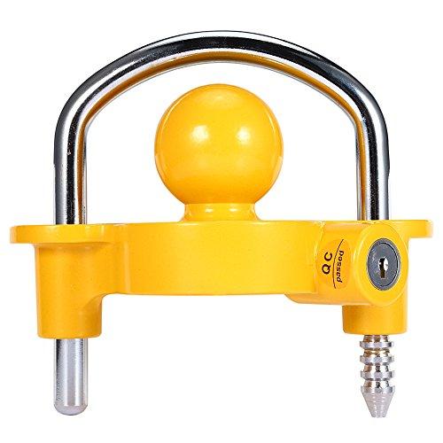 GOTOTOP Universal-Anhängerkupplung für schwere Service, Arretierung für Sicherheitsanhänger für Bootsmotor
