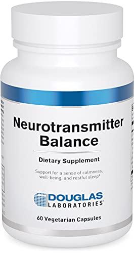 Douglas Laboratories - Neurotransmitter Balance - Supports Feelings of Wellness - 60 Capsules