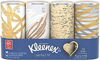 Kleenex Perfect Fit, 4 Tubes, 50 in each tube.