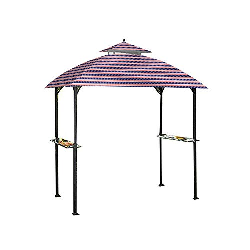 Garden Winds Replacement Canopy for The Windsor Grill Gazebo - Standard 350 - Americana