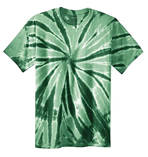 Koloa Surf Co. Colorful Tie-Dye T-Shirts in 17 Colors. Sizes: S-4XL