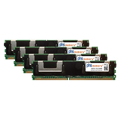 16GB (4x4GB) Kit RAM geheugen voor Maxdata Platinum 1500 IR M6 DDR2 FB DIMM 667MHz PC2-5300F