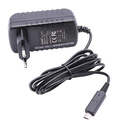 vhbw 220V Netzteil Ladegerät Ladekabel 18W (12V/1.5A) für Tablet Pad Netbook Acer Iconia Tab A700, A701 wie XO.ADT0A.002.