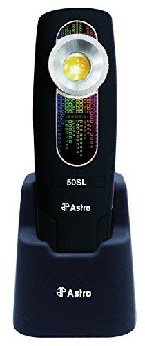 Astro Pneumatic Tool 50SL SunLight 400 Lumen Rechargeable Handheld Color Match Light - CRI 97