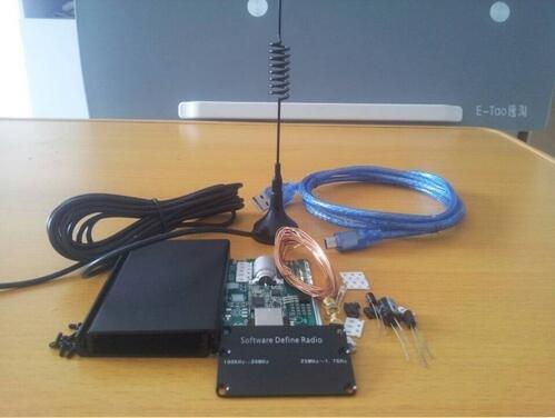 Diybigworld DIY KITs 100KHz-1.7GHz UV HF RTL SDR USB Tuner Receiver R820T RTL2832U + R820T CW FM VHF UHF AM, (NFM, WFM), DSB, LSB