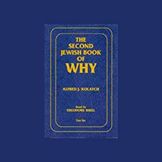 The Second Jewish Book of Why audiobook cover art