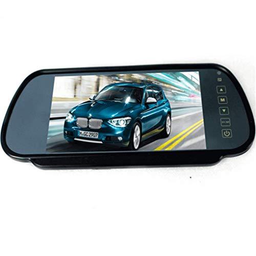 Yongse 7 pouces TFT LCD écran large rétroviseur moniteur voiture inverse Parking Vue arrière Kit