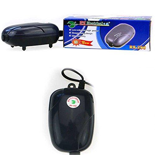 Demino Mini Silent Air Pump Leistungsstarke Sauerstoffpumpe 220 V Aquarium Kompressorpumpe Fisch Schildkröte Tank Noise Reduction
