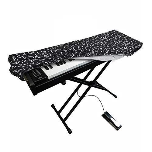 Funda universal para teclado electrónico de 61/88 teclas, a prueba de polvo, impermeable, con cierre de cordón elástico integrado (color #2)