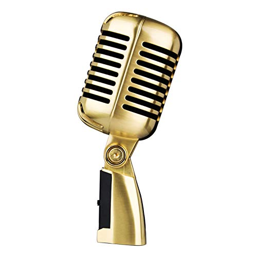 #N/a Micrófono Vocal dinámico Retro clásico-estilo antiguo, para...