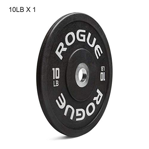 XWF Olympic Bumper Weighted Plate Barbells Plates Single Weight Plates for Barbell or Dumbbell for Home Gym Bodybuilding Weightlifting Crossfit 10lbs/25lbs/35lbs/55lbs (Size : 10lbs)