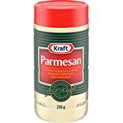Kraft Grated Parmesan Cheese, 250g Shaker