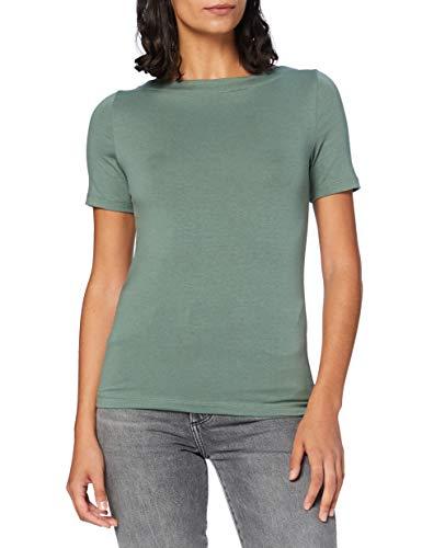 VERO MODA Womens VMPANDA MODAL S/S TOP GA NOOS Shirt, Laurel Wreath, M