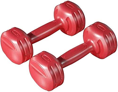 Für alles dankbar Hantel Hantel Damen Fitnessgeräte Home Pair Männer Und Kinder Yoga Kleine Hantel Weiblich(Size:5 kg,Color:rot)