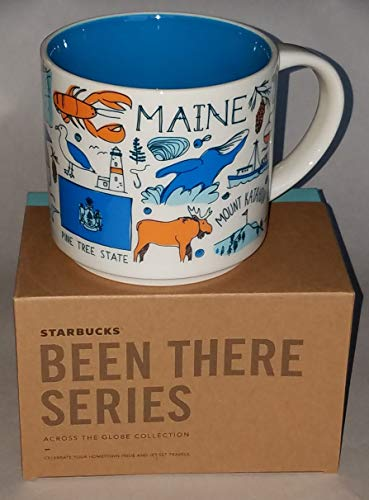 Starbucks Maine Kaffeebecher Been There Serie Across the Globe Collection
