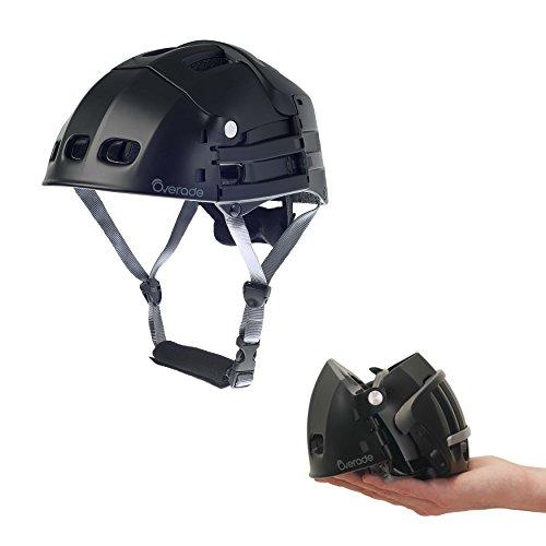 Overade Faltbarer Helm Plixi Fit (Schwarz, L/XL (59-62 cm))