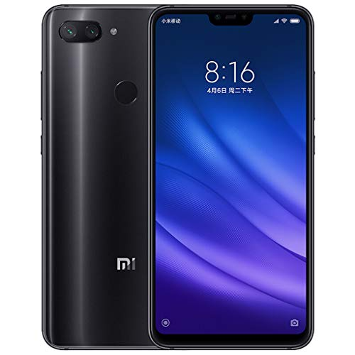 6,26 Zoll Full Screen Snapdragon 660 Octa Core Android 8.1 Smartphone fur Xiaomi Mi 8 Lite,4GB+64GB,3350 mAh,24 MP Frontkamera,Nano-SIM-Karte (Black)