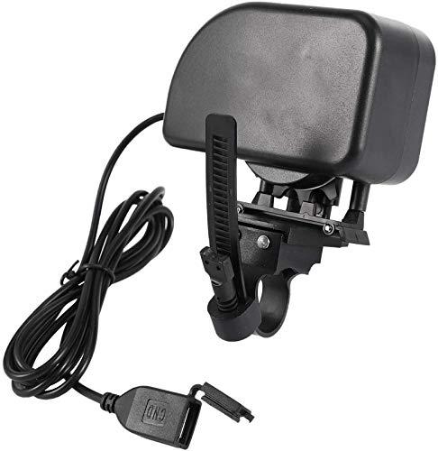 Auoeer Cargador de generador de Cadena de Bicicletas de dinámico de Bicicleta con Cargador USB para Herramientas de Equipos de equitación de teléfono móvil Inteligente Universal