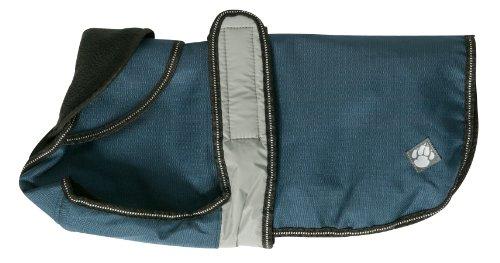 Danish Design Manteau pour chien 2 en 1 réfléchissant , Bleu, 35 cm