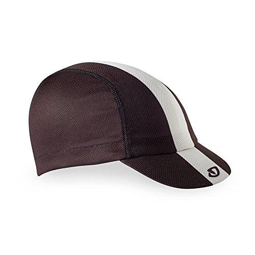 Giro Unisex– Erwachsene Peloton Cap Fahrradbekleidung, Black/White/Gray, OneSize