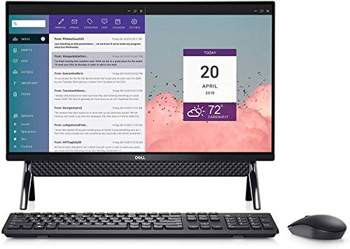 "Dell Inspiron 24 Touch All in One 1TB SSD 32GB RAM Extreme (Intel 10th Gen Processor with Turbo Boost to 4.10GHz, 32 GB RAM, 1 TB SSD, 24"" Touchscreen FullHD IPS, Win 10) PC Desktop Computer"