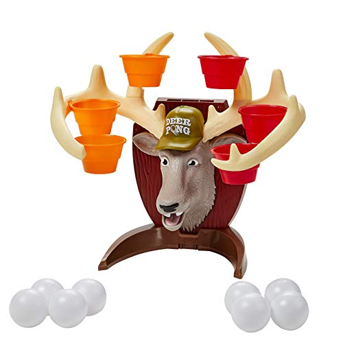Deer Pong Game w/ Talking Deer Head and Music $10.49 + Free Shipping w/ Prime or on $25+